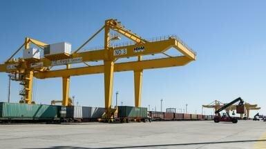 1,24 млн железнодорожных контейнеров перевезут через Казахстан в 2019 году