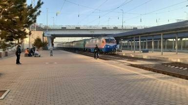 Станция Караганды - важное звено транзита