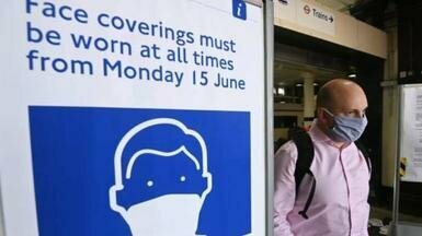 Covid-19: менее 0,1% оштрафовано за отсутствие масок в поездах